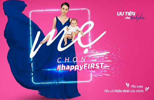 2019: Chiến dịch Ưu tiên cho hạnh phúc - #happyFIRST