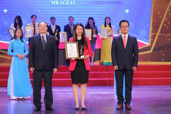 MB Ageas Life vào top 10 thương hiệu tiêu biểu châu Á - TBD